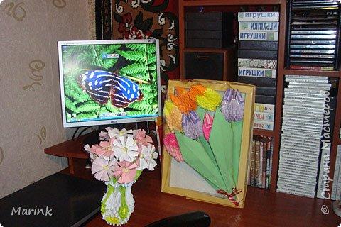 Оригами модульное: Поделки домашние фото 2