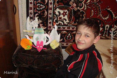 Оригами модульное: Поделки домашние фото 3