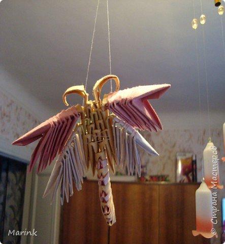 Оригами модульное: Стрекозки по ФЕН-ШУЮ фото 1
