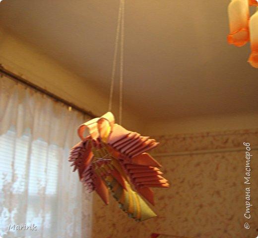 Оригами модульное: Стрекозки по ФЕН-ШУЮ фото 3