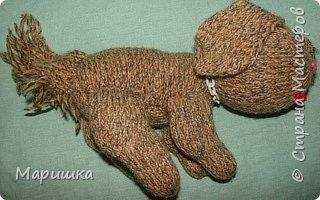 Вязание: Собака фото 2