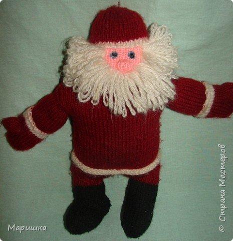 Вязание: Дедушка  Мороз