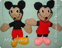 Вязание: Брат и сестра Маусы