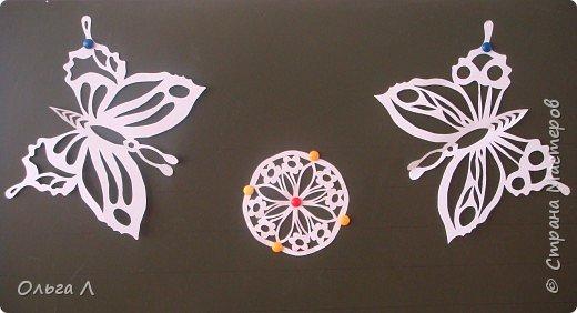 Вытынанка: Бабочки фото 1
