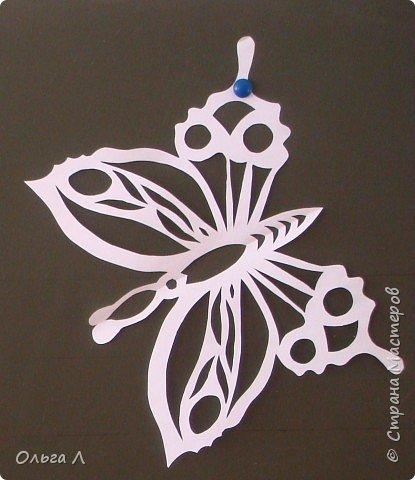 Вытынанка: Бабочки фото 3