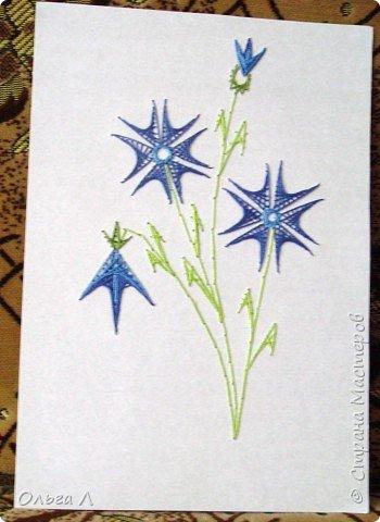 Изонить: Цветы фото 3