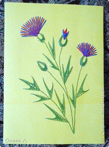 Изонить: Цветы фото 4