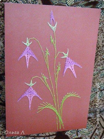 Изонить: Цветы фото 5