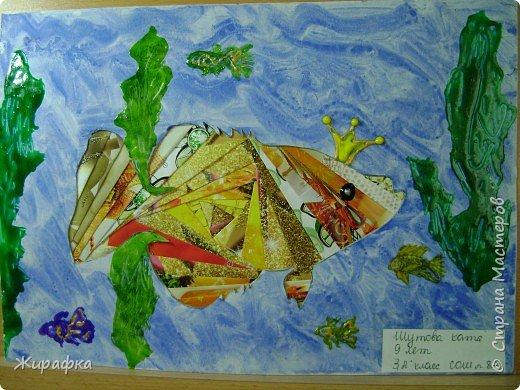 Айрис фолдинг: Золотая рыбка фото 1