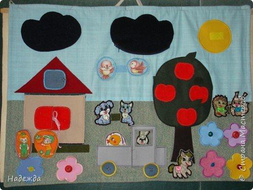 Шитьё: Развивающий коврик для малыша фото 1