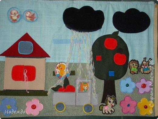 Шитьё: Развивающий коврик для малыша фото 2