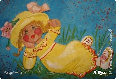 Лепка: Дети-цветы жизни