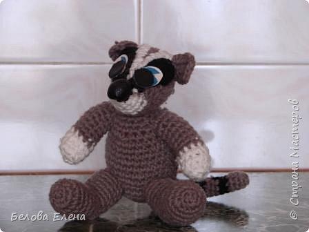 Вязание крючком: Крошка енот. фото 1