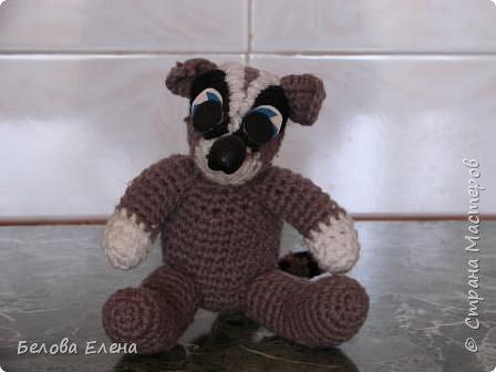 Вязание крючком: Крошка енот. фото 2