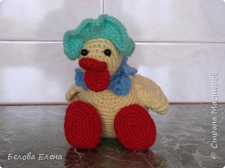 Вязание крючком: Уточка Кряква. фото 2