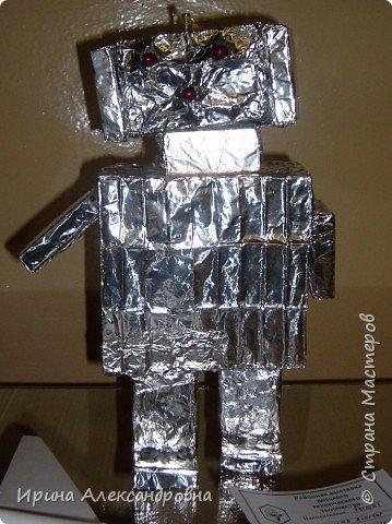 Моделирование: Робот из спичечных коробков фото 1