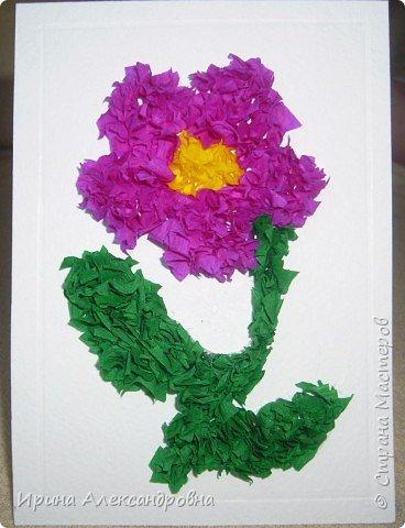 Торцевание: Аленький цветочек для мамы