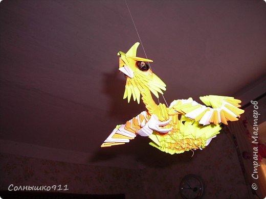 Оригами модульное: ПТИЦА счастья
