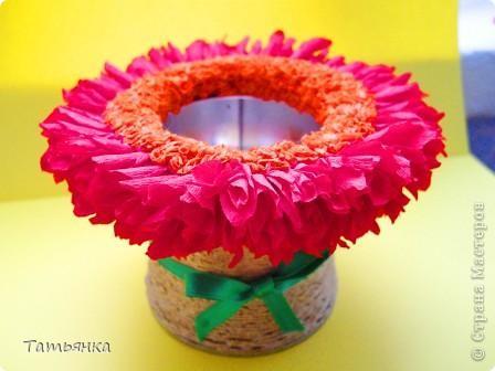 Вазочка, кашпо для цветов фото 2