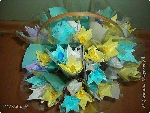 Оригами модульное: Подснежники. фото 2