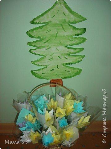 Оригами модульное: Подснежники. фото 1