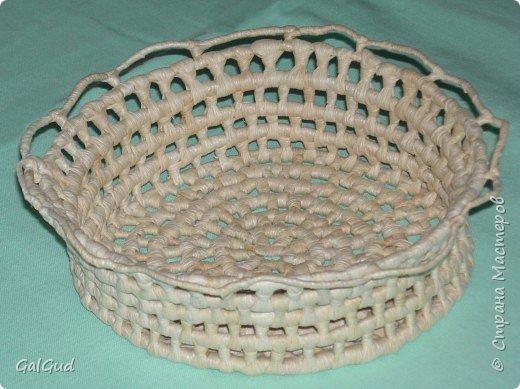 Плетение: Конфетница фото 1