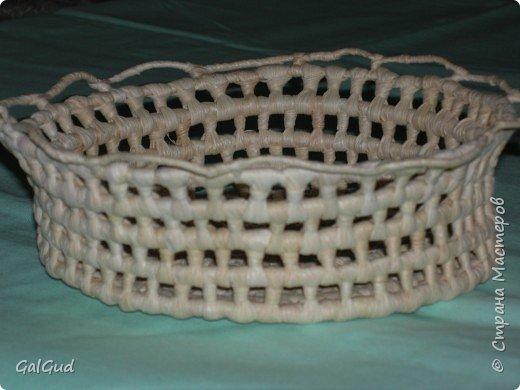 Плетение: Конфетница фото 2