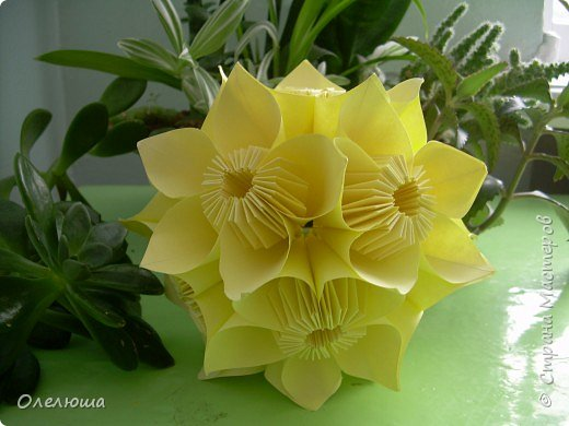 Оригами модульное: Весняночка фото 2
