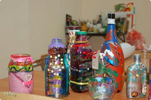 Роспись на бутылках фото 1