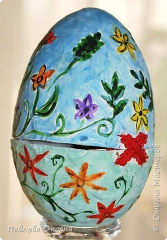 Папье-маше: Пасхальное яичко фото 2