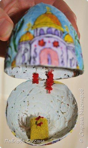 Папье-маше: Пасхальное яичко фото 3