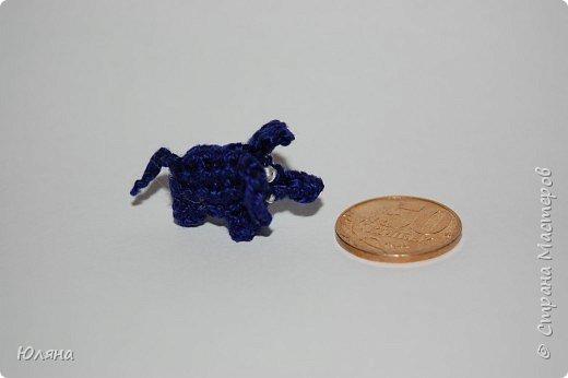 Вязание крючком: слоник-малютка фото 1