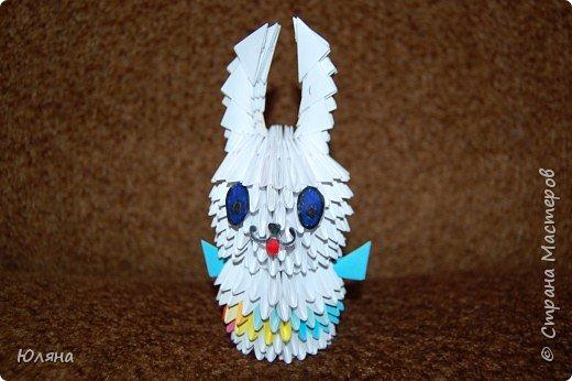 Оригами модульное: Просто Заяц.