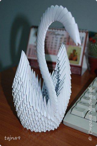 Оригами модульное: Моя первая птичка!