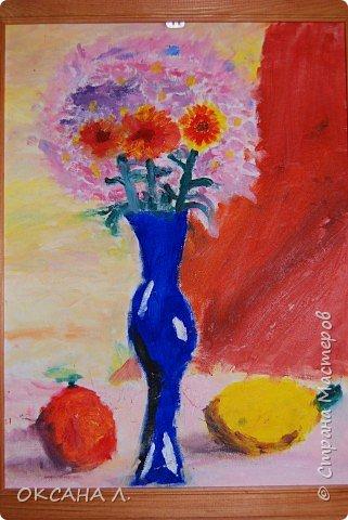 Рисование и живопись: букет