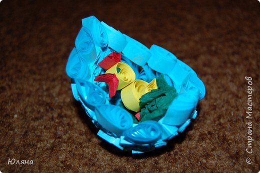 Квиллинг: Пасхальное яйцо
