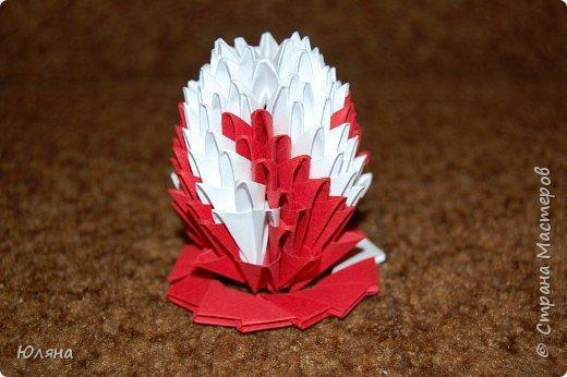 Оригами модульное: наше яичко