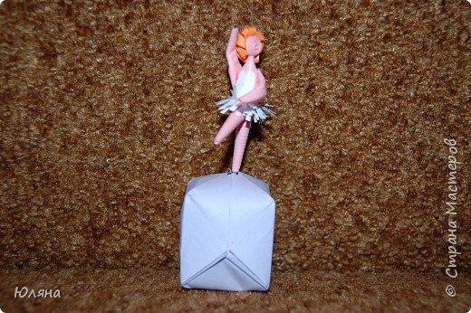 Квиллинг: балерина фото 2
