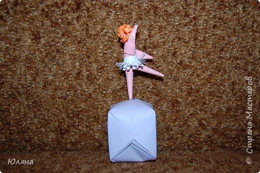Квиллинг: балерина фото 1