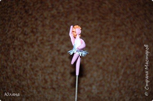 Квиллинг: балерина фото 3