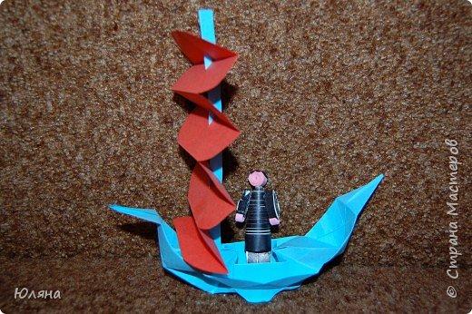 Квиллинг: Наконец то он приплыл. фото 1