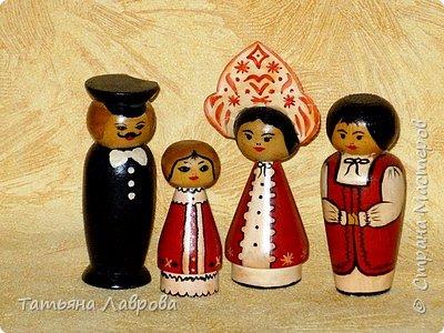 Роспись: Деревянные куколки