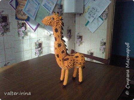 Оригами модульное: сафари парк фото 7