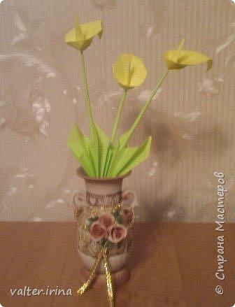 Оригами: цветы