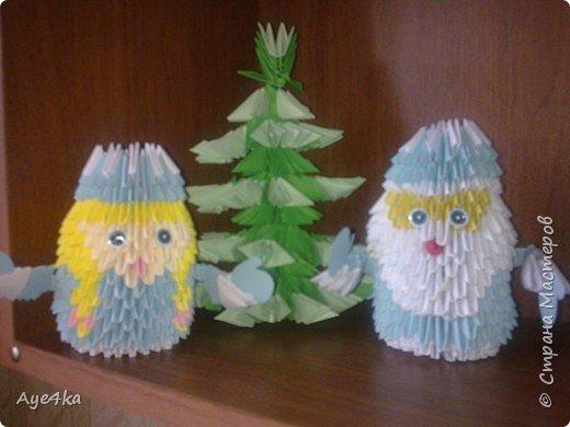 Оригами модульное: Новогодняя коллекция))
