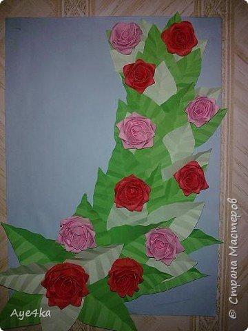 Квиллинг: Букетик роз))