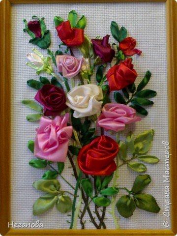 Вышивка: Милым женщинам -цветы!
