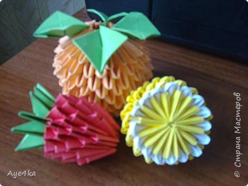 Оригами модульное: Фрукты фото 2