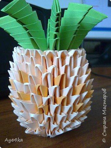 Оригами модульное: Фрукты фото 3