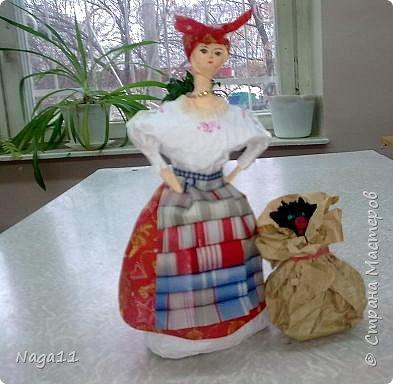 Кукла,  по мотивам повести Н. В. Гоголя, бумагопластика фото 1